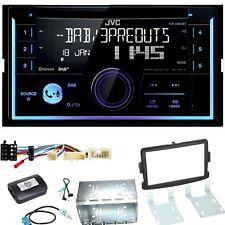 JVC KW-DB93BT Digitalradio Bluetooth USB Einbauset für Dacia Duster Lodgy Logan