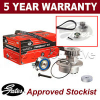Gates Timing Cam Belt Water Pump Kit For Bedford Chevrolet Vauxhall KP15310XS