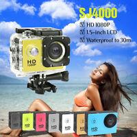 SJ4000 Full HD Waterproof Sports DV Action Camera Helmet Bike Car Camcorder Cam