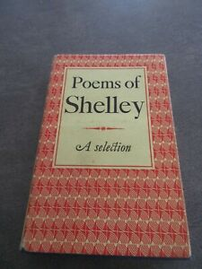 Small book : Poems of Shelley A selection vintage 1966 Oxford University Press