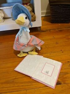 Peter Rabbit Jemima Puddle Duck Plush BOOK NOT INCLUDED