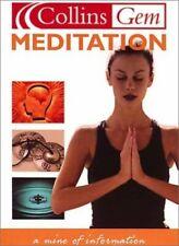 Meditation (Collins Gem) Hardback Book The Cheap Fast Free Post