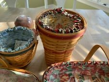longaberger baskets 1993, 97, 98, 99, 01 may series/mothers day
