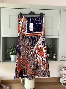 Ladies Next Summer Skirt Size 12 New With Tags (Elasticated Waist)