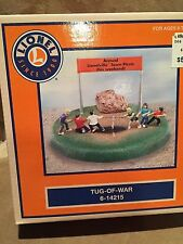 Lionel Train O Scale Operating Tug-of-War Accessory 6-14215 New in Box RARE