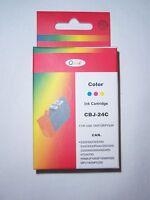 Q-Ink - CBJ-24C Cartouche Couleur Pour Imprimante CANON