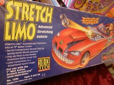 NOS 1994 - STRETCH LIMO FOR STRETCH ARMSTRONG - ADV. STRETCH VEHICLE - CAP TOYS