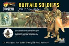 WARLORD GAMES - Buffalo SOLDATS BLACK (Noir) US TROUPES 28mm Bolt Action