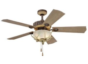 Yosemite 2 Indoor/Outdoor Ceiling Fan Turn of the Century -Brand New! Opened Box