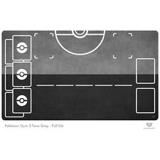 Pokemon Gym Play Mat 2-Tone Grey - Pokemon Play Mat (PL0136)
