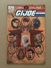 GI JOE (2011) #8 RI TOM FEISTER 1:10 VARIANT COVER FN/VF 1ST PRINTING IDW COBRA