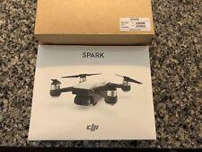 BRAND NEW DJI SPARK ALPINE WHITE QUADCOPTER DRONE 1080P VIDEO 12MP WITH BONUS