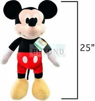 "Disney Mickey Mouse Clubhouse BIG Jumbo Plush 25"" Tall Doll New"