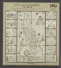 Philippine Stamps 2021 Murillo-Velarde 1734 Map of Las Yslas Filipinas Complete