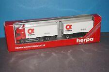 "RF38] Herpa H0 147668 DAF CF 85 Hängerzug "" Cargoline "" 1:87 OVP"