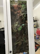 Reptiles Enclosure Heat Cage Lizard Frog Pet House Snake Turtle H78 W19 D13