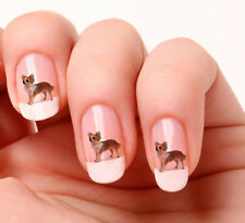 20 Adesivi Unghie Nail Art Decalcomanie #396 - Chihuahua Just peeling & stick