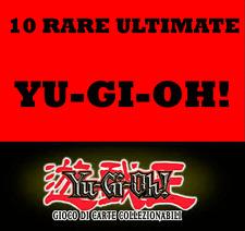 YU-GI-OH! LOTTO 10 RARE ULTIMATE