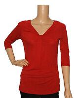 NEW WOMEN LADIES EX WALLIS RED TUNIC T SHIRT TOP SIZE 8, 10,12, 14, 16, 18
