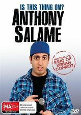 Anthony Salame - Is This Thing On? (DVD, 2012), NEW REGION 4 BRAND NEW SEALED!