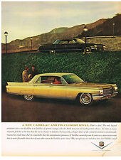 Vintage 1969 Magazine Ad Cadillac Only Substitute for a Cadillac is a New One