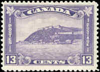 1932 Mint H Canada F+ Scott #201 13c King George V Medallion Stamp