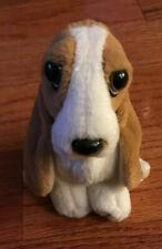 """Vintage Hush Puppies 5.5"""" Plush Bassett Hound Dog by Wolverine Worldwide Inc"""