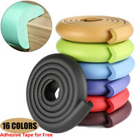 Cushion Foam Bumper Desk Corner Protector Guard Strip Table Edge Baby Safety