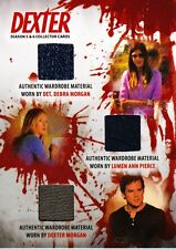 Dexter Season 5&6 Triple Costume Relic TC2