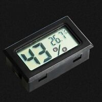 Mini Indoor Display Monitor Temperature LCD Thermometer Hygrometer Humidity