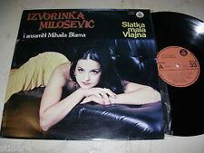 YUGO IZVORINKA MILOSEVIC I Ansambl Mihaila Blama *RTB STEREO LP 1980*