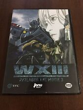 PATLABOR THE MOVIE 3 WXIII - 1DVD - 102 MIN JONU MEDIA BANDAI VISUAL BUEN ESTADO