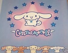 Sanrio Cinnamoroll Printed Paper Book Cover. School text book shelf wall. New