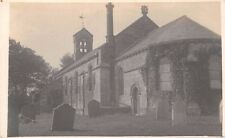 Northumberland  - NORTH SUNDERLAND, St Pauls Church,  Real Photo.
