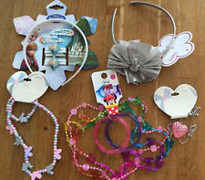 Girls Jewelley & Hair Accessory Bundle - Minnie Mouse/Frozen/Next/Tu