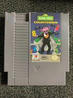 SESAME STREET COUNTDOWN - NINTENDO NES - GAME ONLY - FREE S/H - (C1)