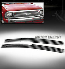 94-97 CHEVY S10 PICKUP/95-97 BLAZER UPPER BILLET GRILLE 2PCS ALUMINUM POLISHED