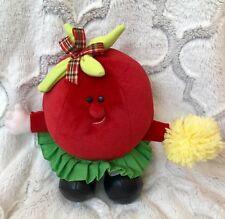 AVON Somersaults Vintage 1986 Pals Stuffed Plush TALLULAH TOMATO vegetable fruit
