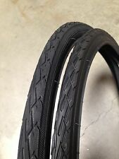 (1pair) 700x40c Black Bicycle Tires-Hybrid, Fixie, Road Bike