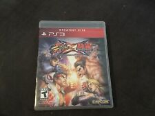 PS3 Street Fighter X Tekken (Sony PlayStation 3, 2012)  Case Disc Tested