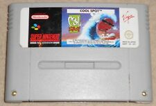 COOL SPOT - SNES SUPER NINTENDO GAME - PAL A UKV VERSION