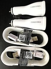 2 OEM Samsung Galaxy S7 S6 Edge Note 4 5 Adaptive FAST Charging Rapid Carcharger