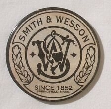 Smith & Wesson Vintage Logo neu und original USA XL Magnet Schild