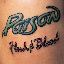Flesh & Blood [Bonus Tracks] by Poison (CD, Jul-2006, Capitol)