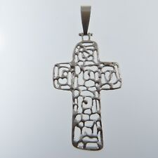 925 SILVER STERLING Cross PENDANT Jewelry (no nickel) Made in Poland #7