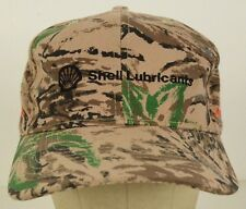 Shell Lubricants Ackerman Oil Gas Camouflage Baseball Hat Cap Adjustable