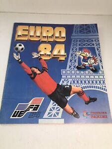 Album PANINI Football EURO 84 Incomplet