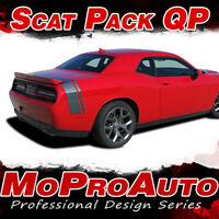 2017 2018 2019 Challenger SCAT PACK Quarter Trunk 3M Vinyl Graphic Stripe Decal