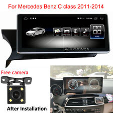 2G Ram Touch Screen Android 10 GPS Navigation for Benz C class W204 2011-2014