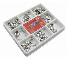 100Pcs Dental Matrix Sectional Contoured Metal Matrices Full Kit No.1.398 DJ8C